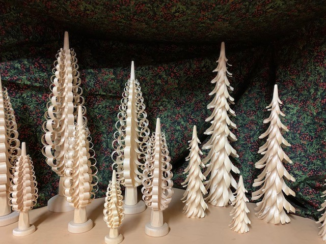 Shaved Trees or Spanbaum